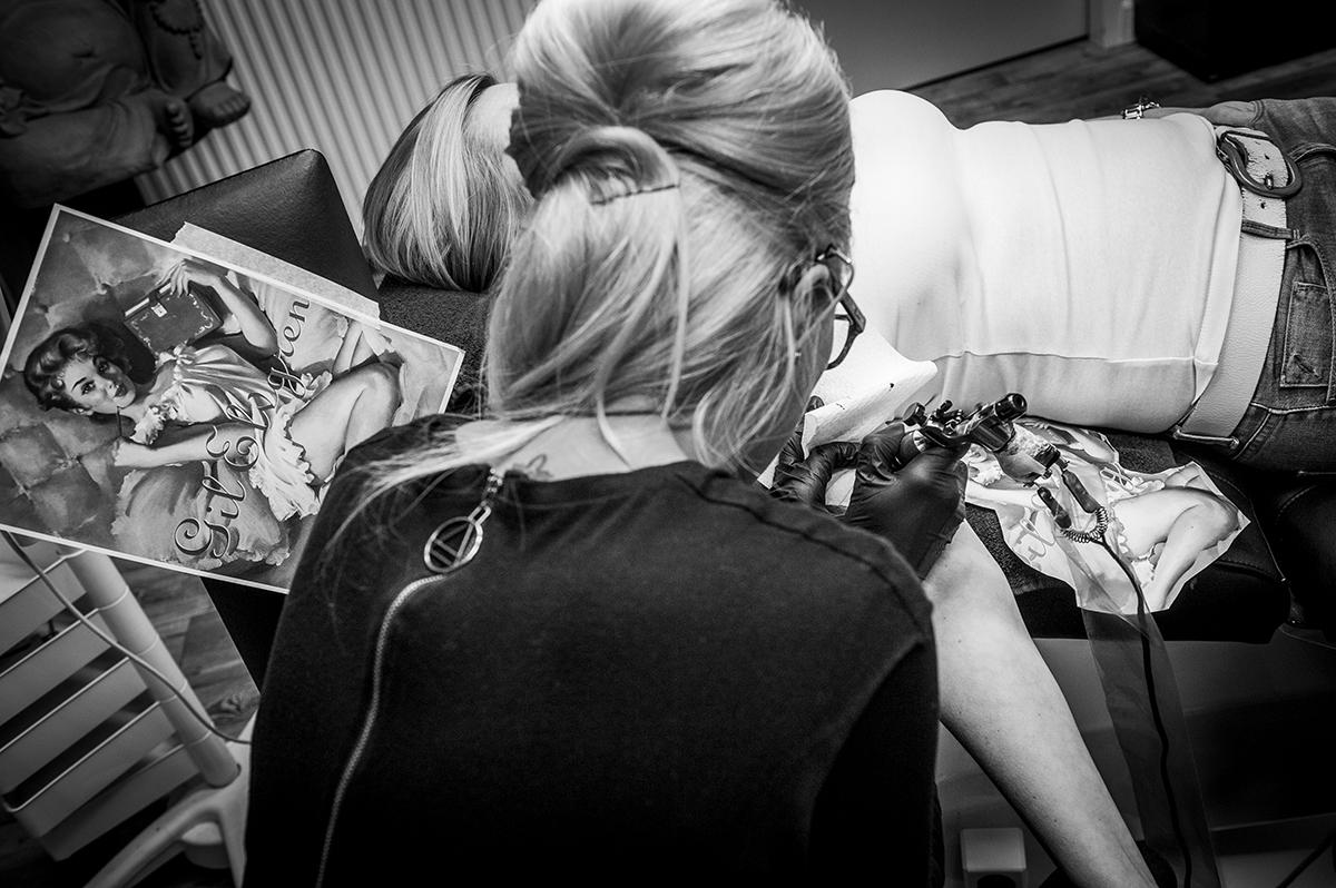 Een overzicht van tattoostudio's die het Pumps & Platjes-stempel waardig zijn.